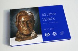 60 year book of VDMFK at the Frankfurt Book Fair 2017