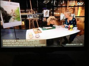 Ann Lund WAHLBERG zu Gast in TV-Show