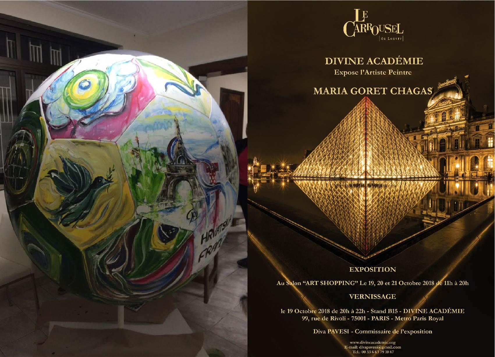 Expo 2015 Stand Enel : Exposition en el carrousel du louvre vdmfk