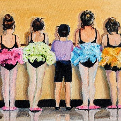 """""""Ballerinas"""" - Catherine DE BEER"""