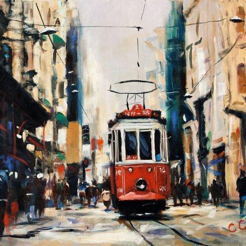 """""""Red train"""" - Chia-Syun CHANG"""