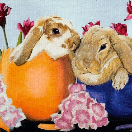 """""""Easter Bunnys"""" - Martin Charl SODOMS"""