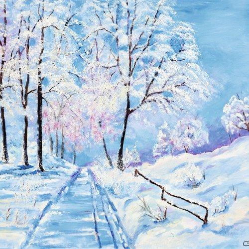 """""""Erster Schnee"""" - Waldemar MERZ"""