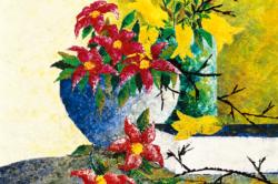 DULNUAN - Book & flower