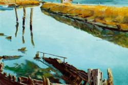 GASPERUT - Destroyed_boat_in_Saline