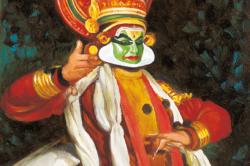 RAVINDRAN - Kathakali_Dance